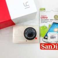 Jual Xiaomi Yi International Dashboard Camera Smart Car Dvr Dash Cam - Gold Murah