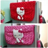 Jual Cover Kulkas / Tutup Kulkas Hello Kitty Murah