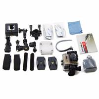 Jual Onix XCOM X3 Action Camera 4K HD 16MP SILVER Carton Box + battery 900 Murah