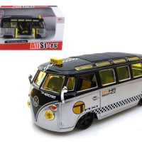 Diecast maisto 1/25 Model Volkswagen Samba Van/Bus Taxi