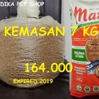 Jual Makanan Kucing / Cat Food MAXI REPACK CHICKEN AND TUNA 7 KG Murah