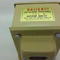 Step Down Transformator ( 220v ke 110 v) 300 watt Merk Daiichi