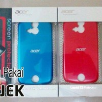 [m.g]jelly/soft/silikon Case Acer Liquid E2(v370) Bonus Anti Gores