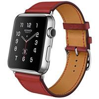 Jual Terlaris Hoco Art Series Genuine Real Leather Strap for Apple Watch 42 Murah