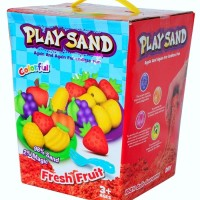 Jual PLAY SAND FRESH FRUIT SET MAINAN PASIR KINETIK AJAIB NT004 Murah