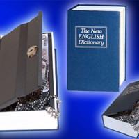 Jual NEW Brankas Buku Besar, Booksafe, Tempat Perhiasan, Book Organizer Ram Murah