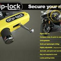Jual NEW Griplock Grip Lock Kunci Gembok Pengaman Anti Maling Stang Motor R Murah