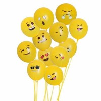 Balon Latex Emoticon / Aneka Karakter Emoticon