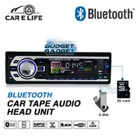 Jual Tape Audio Mobil Bluetooth Multifungsi USB MP3 FM Radio Murah