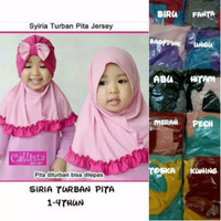 Jual READY jilbab anak/jilbab siria turban kombinasi/jilbab 3in1 Murah