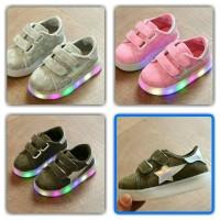 Jual Sepatu Anak Star Lampu LED Murah