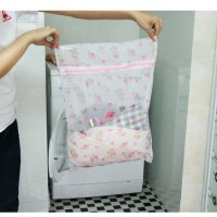 Tempat Baju BRA Celana Dalam Kotor/Tas Laundry Jaring GAMBAR (30X40cm)