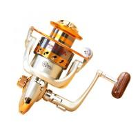 Gulungan Pancing Yumoshi EF6000 Metal Fishing Spinning Reel 12 Ball Be