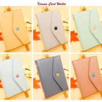 Jual MURAH ! Korean Card Wallet Model AMPLOP (Muat 20 kartu) Murah