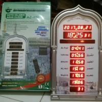 Jam Dinding Adzan Waktu Sholat AZ 409-01