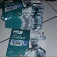 Jual Software Antivirus Eset Nod 32 3pc/ nod32 antivirus 3 user Original Murah