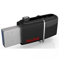 Jual SANDISK FLASHDISK OTG DUAL DRIVE SDDD2  128GB Murah