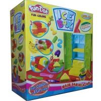 Jual Fun Doh Ice Box / Mainan Lilin Fun Doh Ice Box Murah