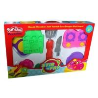 Jual Mainan Anak Perempuan Fun Doh Stir n Fry - Mainan Lilin Murah
