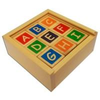 Jual Mainan Edukatif / Edukasi Anak - Kubus Huruf Alphabet D Murah1 Murah