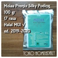 Jual Moiaa Premix Silky Pudding 100 gr Murah