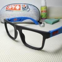 Jual TOKO AFINA            kacamata spy folding blue paket hemat gratis Murah