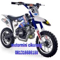 MOTOR MINI TRAIL KXD 50CC MESIN 2TAK SPECIAL EDITION