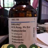 MERCK 100003.1000 Acetonitrile for analysis EMSURE, cap.. 1 liter