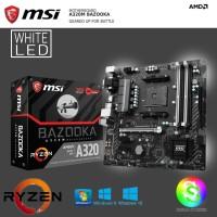 MSI A320M Bazooka Motherboard Ryzen AMD MOBO