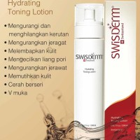 SWISDERM Hydrating Toning Lotion Spray Semprot Pengencang Wajah 60 ML