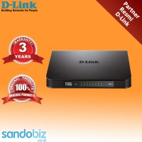 Switch D-link DGS-1016A 16-Port Unmanaged Gigabit Switch Original