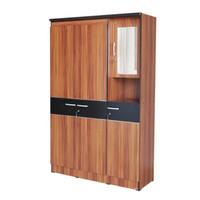 FREE ONGKIR Lemari Pakaian Minimalis 3 pintu + Meja rias