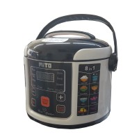 Mito R1 8in1 Digital Rice Cooker [1 L] [BLACK/PINK/COKLAT]