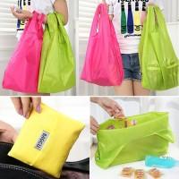 Jual Tas Kantong Belanja Lipat Mini Shopping Bag Baggu Bagcu Supermarket Murah