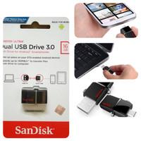 Jual FLASHDISK OTG sandisk dual usb drive 16GB    Murah RG Murah