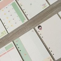 Sunny Day Loose Leaf Binder Paper A5 (Kertas Refill Binder)
