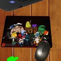 Jual Mouse pad dota 2 chibi heroes character custom mousepad dota 2 gaming Murah