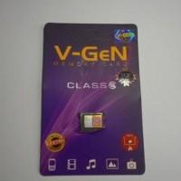 Jual New Microsd V-Gen 8Gb Class 6 Ori Terbaru Murah
