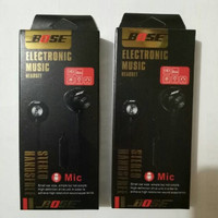 Jual Promo ! Headset BOSE electronic Music Earphone Handsfree Universal Murah