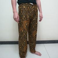 Celana Panjang Batik Betawi Boim Dewasa Jumbo A3 Katun Halus