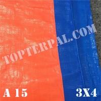 Terpal Plastik A15 Ukuran 3x4 m - Terpal Plastik A15 3x4 meter Murah
