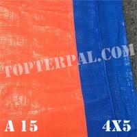 Terpal Plastik A15 Ukuran 4x5 m - Terpal Plastik A15 4x5 meter Murah