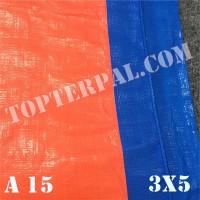Terpal Plastik A15 Ukuran 3x5 m - Terpal Plastik A15 3x5 meter Murah