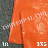 Terpal Plastik A8 Ukuran 3x5 m - Terpal Plastik A8 3x5 meter Murah