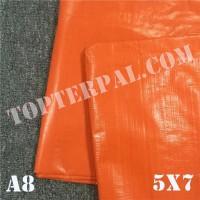 Terpal Plastik A8 Ukuran 5x7 m - Terpal Plastik A8 5x7 meter Murah