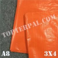 Terpal Plastik A8 Ukuran 3x4 m - Terpal Plastik A8 3x4 meter Murah