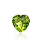 Jual Batu Peridot Heart Asli Murah Murah