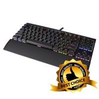 Jual Corsair K65 RGB RAPIDFIRE Mechanical Gaming Keyboard - Cherry MX Speed Murah