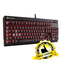 Jual Corsair STRAFE Mechanical Gaming Keyboard - Cherry MX Red Murah