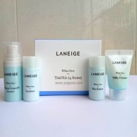 Jual laneige white dew trial kit (4 items)    ORIGINAL Murah